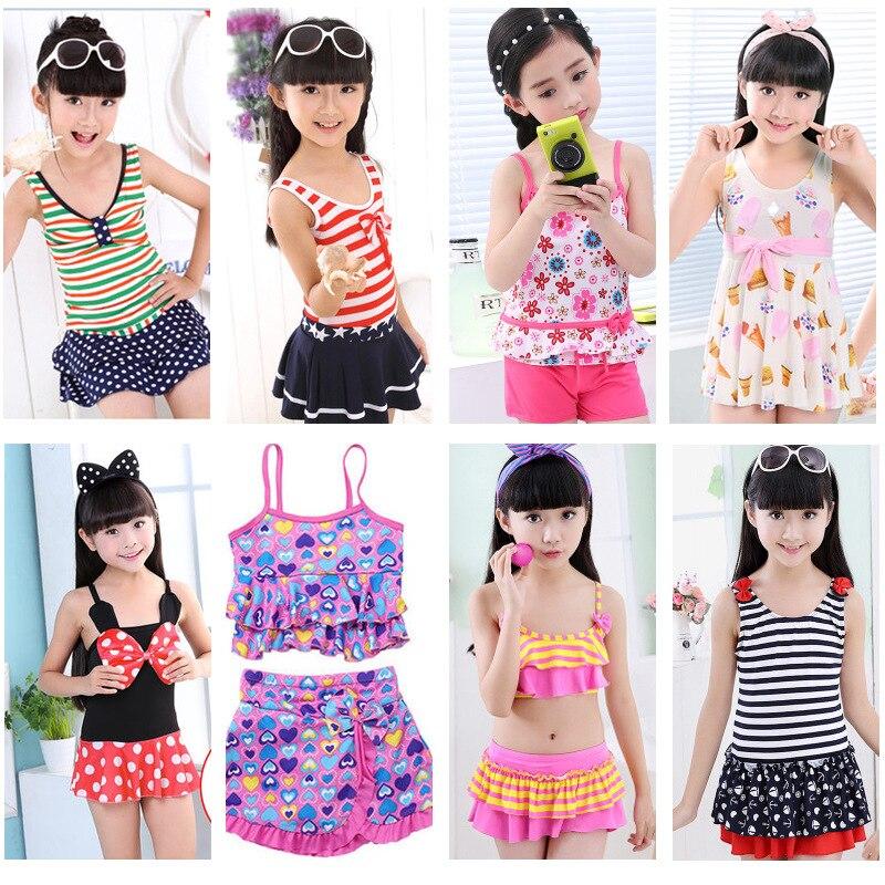 KID'S Swimwear Girls Dress-One-piece Split Type Tour Bathing Suit Adult Swimwear Women's Low Price Sale BOY'S Swimming Trunks