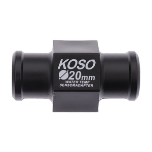 Image 3 - 16/18/20/22mm Koso su termometresi için motosiklet evrensel sıcaklık ölçer sensörü bağlantısı boru radyatör hortum adaptörü