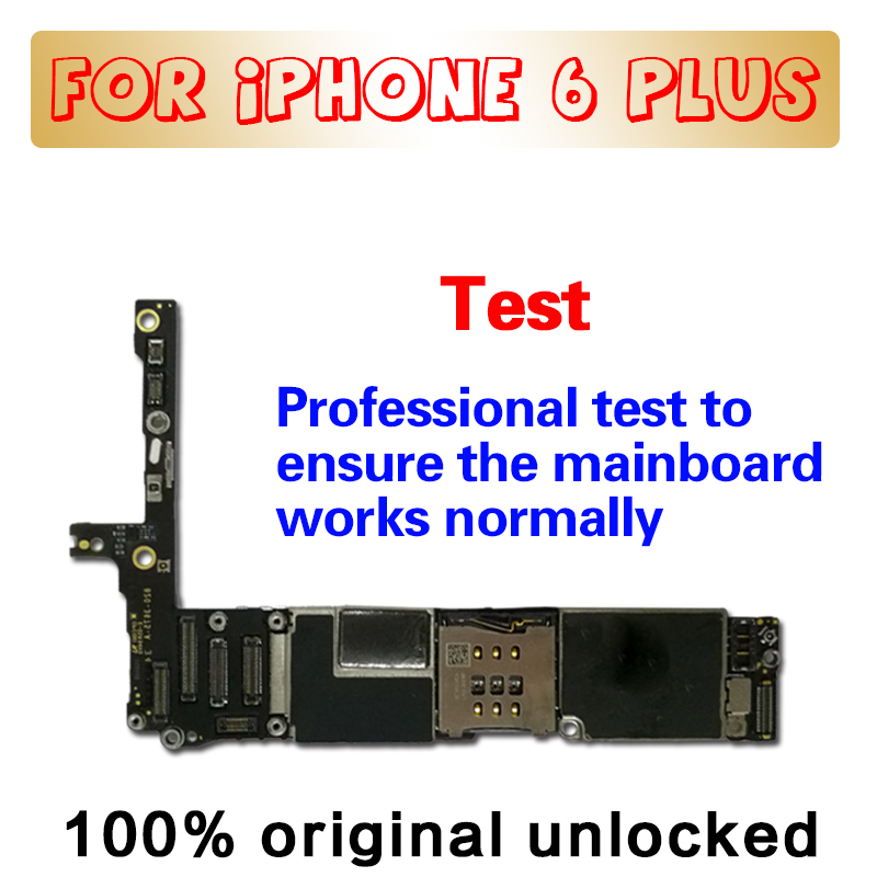 With Touch ID without Touch ID for iPhone 6 Plus Motherboard with Full unlocked 100 Original for iphone 6P Mainboard in Mobile Phone Antenna from Cellphones Telecommunications