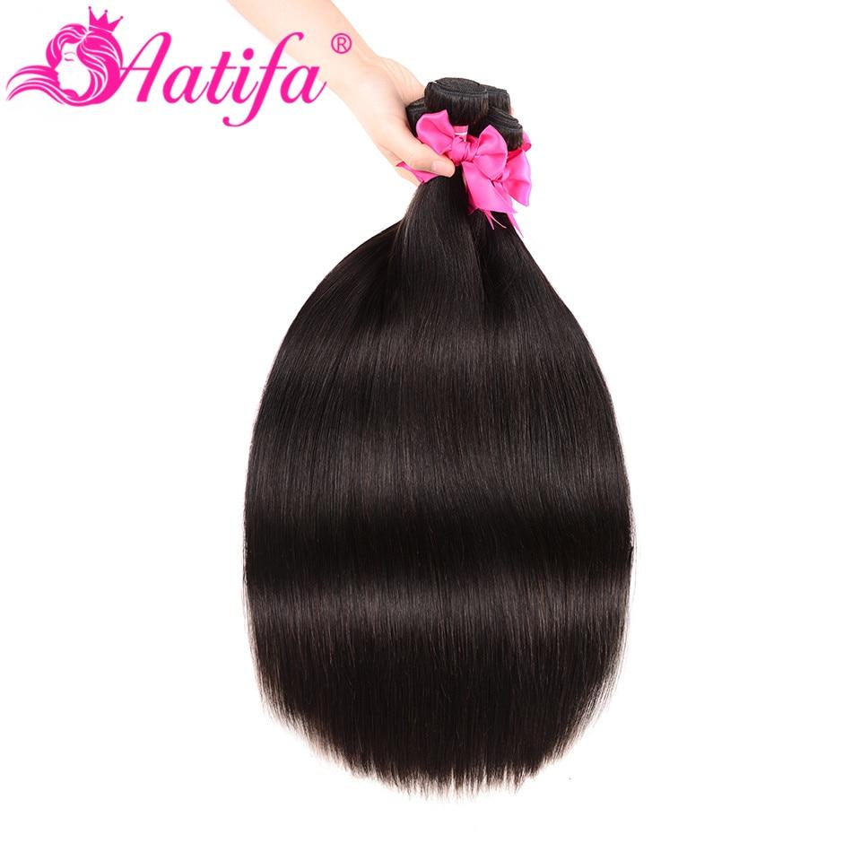 Hc70ef9b6f160462187a7af4a3e3a2ef9U Aatifa Brazilian Straight Hair Bundles With Closure Human Hair Bundles With Closure Remy Bundles With Closure Hair Extension