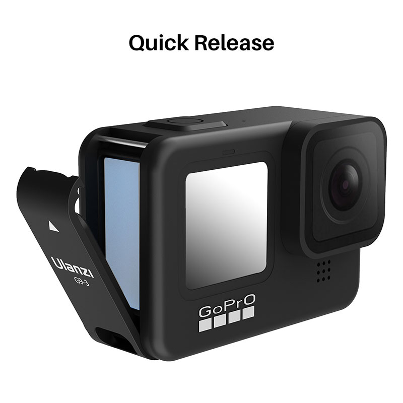 Ulanzi G9-3 Protective Cover for GoPro 9 Battery Door GoPro Hero 9 Black Battery Port Adapter Vlog Accessory Camera Accessories
