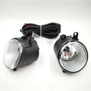 1 para dla Toyota Corolla Verso Camry RAV 4 Yaris Verso S Avensis światła przeciwmgielne montaż 4000lm 55W 4300K halogenowe światła przeciwmgielne tanie i dobre opinie Car Flashing Zestaw lamp przeciwmgielnych Fog Lamp 00inch ABS+LED 12 v 1 5kg