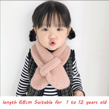 2019 Fashion Winter Children's Scarf For Baby girl Scarf Boy