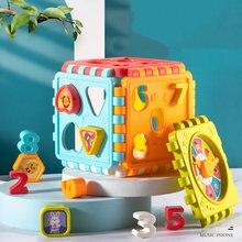 Детские игрушки шестигранная барабанная коробка Детская форма