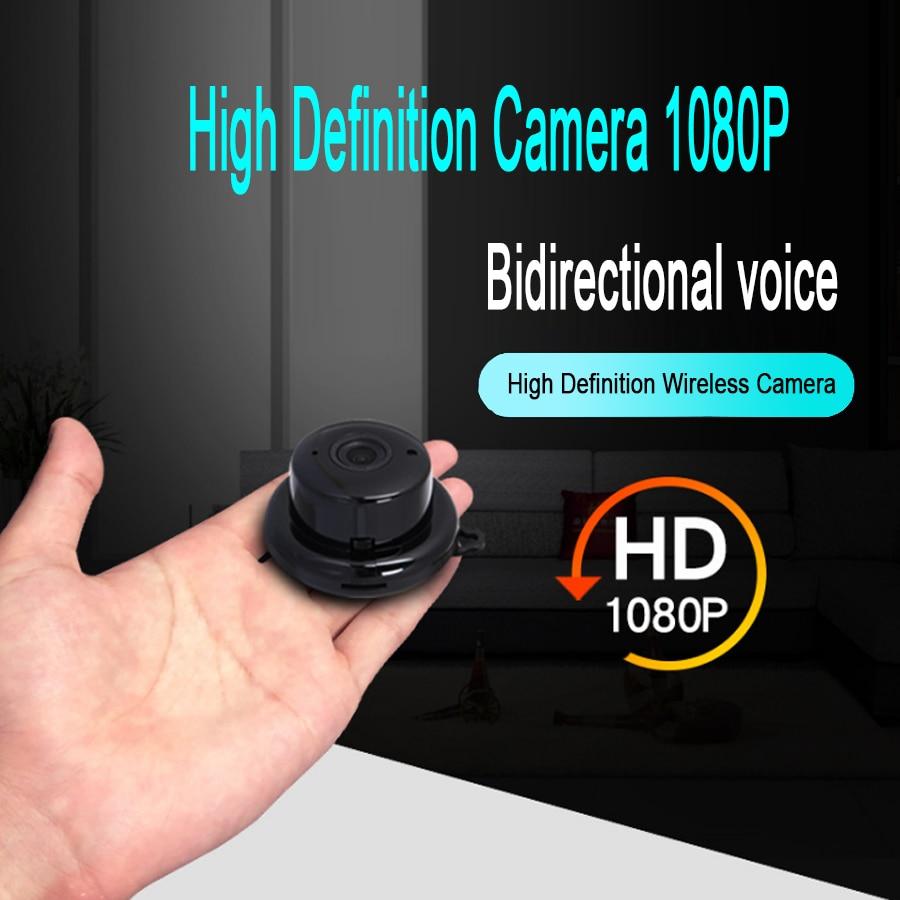 HD 1080P mini câmera ip sem fio wifi night vision cam pequeno micro câmara de vídeo para android IOS telefone DV DVR