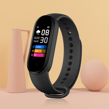 M5pro Smart Bracelet Heart Rate Fitness Traker IP67 Waterproof Smart Watch Health Sport Smart Wristband with USB Charger