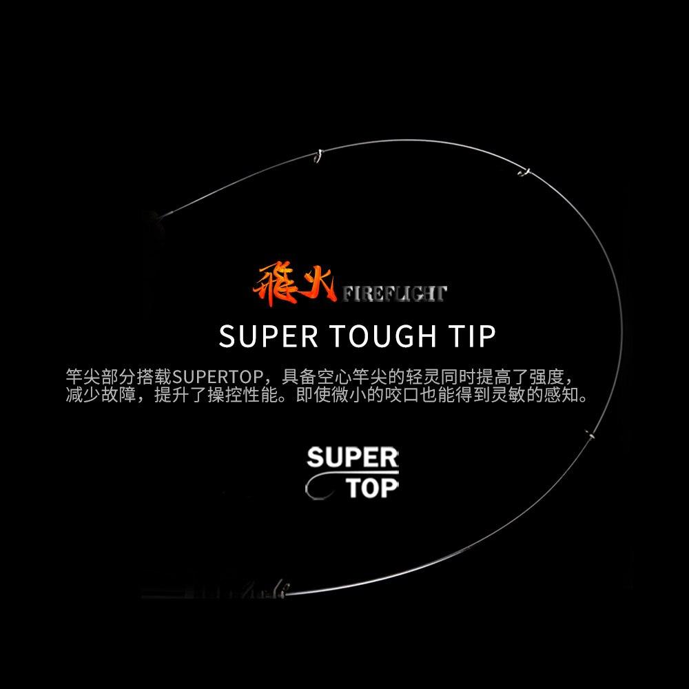 Japanse Import Hoge Carbon Fiber Ultra Licht Super Hard Reef Rock Hengel 4m5m Fuji Wiel Zetel Hand Karper Blackbird zachte Staaf - 4
