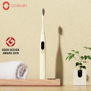 Image 1 - Globale Versione Oclean X Sonic Spazzolino Da Denti Elettrico Aggiornato Impermeabile Ultra sonic Spazzolino Da Denti automatico USB Ricaricabile