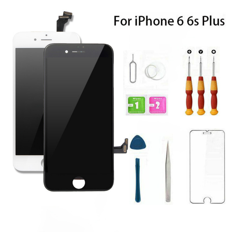 Neng Full Set Assembled LCD AAA+ For iPhone 6 6S Screen Replacement Screen Display Good 3D Touch Quality For iPhone 6 6S Plus image