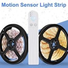 Light Strip Kitchen-Hallway Lamp-Tape Closet Under-Bed-Lights Led-Motion-Sensor Bedroom