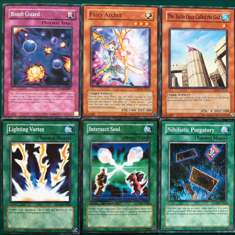YU GI OH, monstruos de duelo, tarjeta inglesa Yugi Muto, tarjeta de colección de edición completa, juguete para regalo para niños