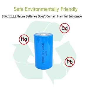 Image 5 - 4Pcs PKCELL 19ah ER34615 34615 3,6 V Größe 34,2X61,5mm 19000MAH Nicht wiederaufladbare D LiSOCl2 batterien lithium batteriesfor 10 jahre