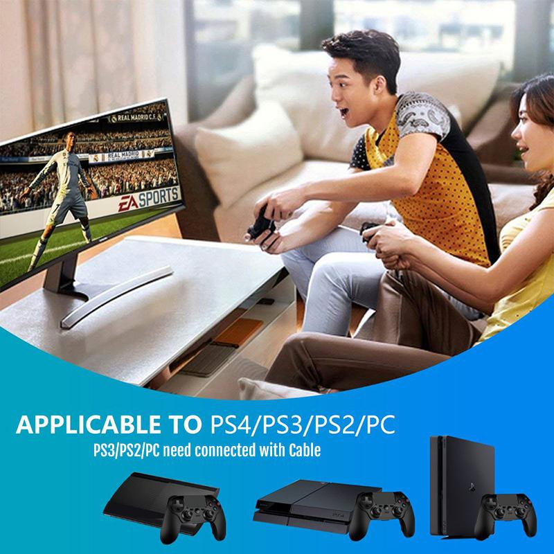 Wireless Gamepad and Game Controller with Vibration Feedback and Touch-Pad for Playstation 5