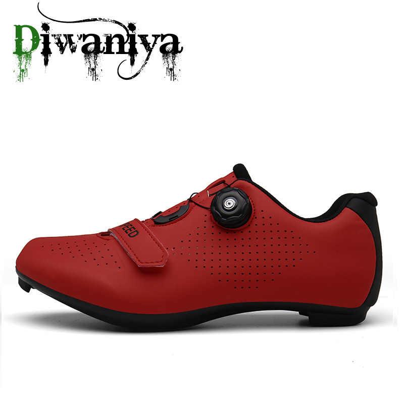 Yeni bisiklet ayakkabıları Sapatilha Ciclismo Mtb erkekler Sneakers kadınlar dağ bisikleti ayakkabı kendinden kilitleme Superstar orijinal bisiklet ayakkabıları