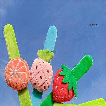 23cm pasek arbuz itp pluszowe wypełnione zabawki truskawka itp dziecięca lalka pluszowa tanie i dobre opinie xuleplush COTTON CN (pochodzenie) Pp bawełna Dorośli Unisex Film i telewizja fruit