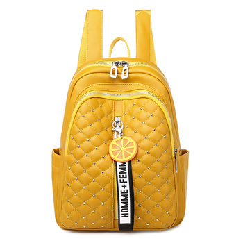 2020 Women Leather Backpacks High Quality Female Vintage Backpack For Girls School Bag Travel Bagpack Ladies Sac A Dos Back Pack 2019 classic women leather backpacks for girls sac a dos female backpack college travel bagpack ladies back pack mochilas girl