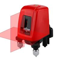 2 Line 1 Point 3D Laser Level Excellent Durable and Practical ABS Alloy Infrared Vertical Horizontal Self-leveling Tool