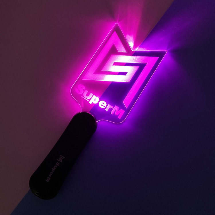New Kpop Super M Light Stick Gift KAI MARK TEN