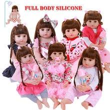 Кукла реборн Реалистичная силиконовая милая мягкая на ощупь