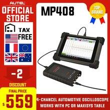 AUTEL MaxiScope MP408 Basic Kit 4 channel automotive oscillo