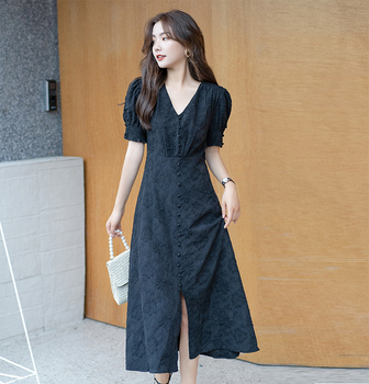 New S-4XL Summer Girls Dress Women Short Sleeve Dresses Female Dress Vintage dress Oversize Boho Robe Femme Vestidoestido babyonline dress 045g s