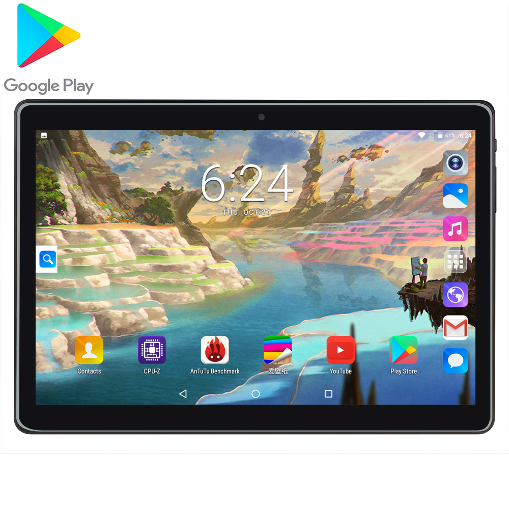 2020 New MTK6580 10 10.1 Inch Tablet PC Android 7.0 Quad Core Metal Tablets 2GB RAM 32GB ROM 1280x800 IPS WiFi GPS CE