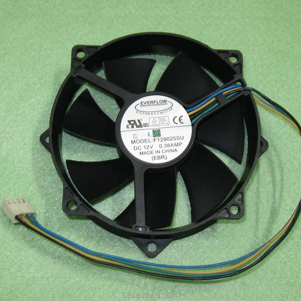 NEW fan for Everflow R127015DL 12V 0.25AMP 4P graphics card cooling fan