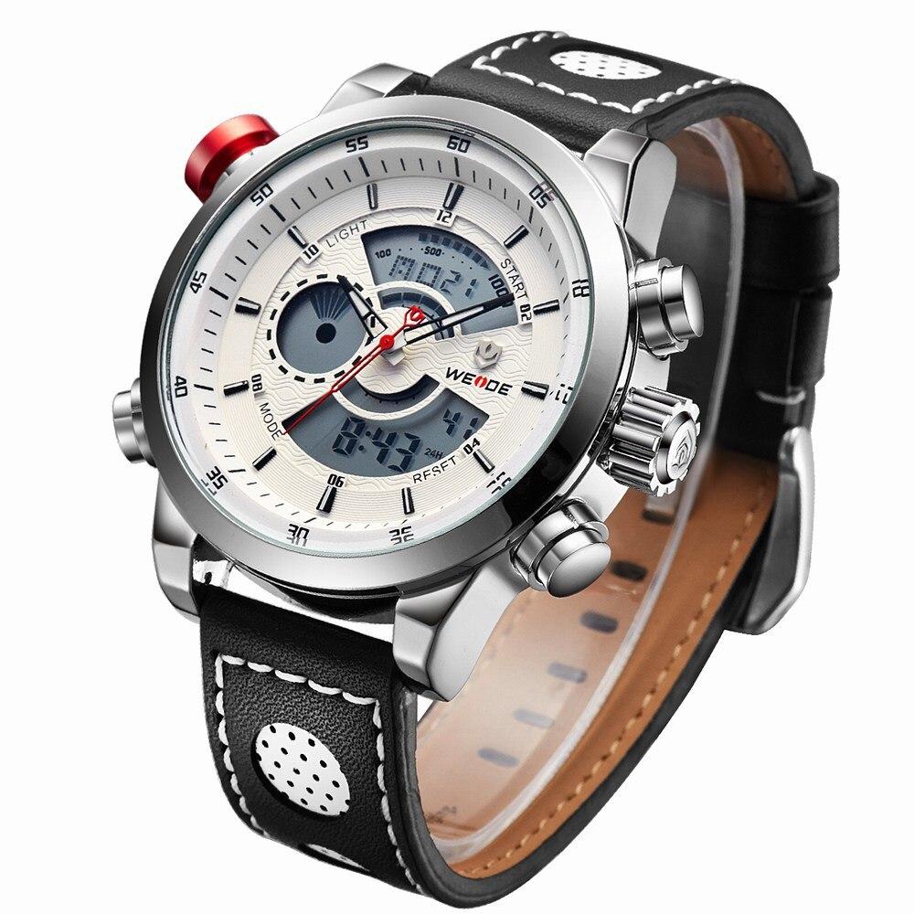 Hc7114e10c9f04e5291b86352412d023fY Weide watch Men Luxury Top Brand Quartz Watch Fashion Business Male Watch Shockproof Luminous Wristwatch