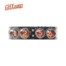 GHXAMP 4-bits Glow Tube Nixie Clock QS30-1 SZ3-1 Tube Advanc