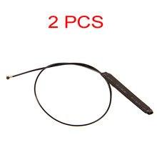 2 pces 20 cm mhf4 ipex 4 conector da antena para m.2 ngff wifi cartão intel ax200 9260ngw 3g 4g módulo