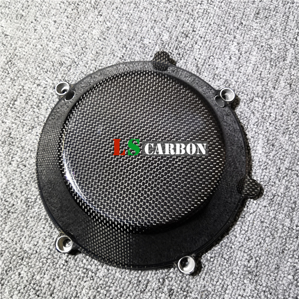 Engine Cover (all Dry Clutch Cover) For Ducati 848 1098 1198 749 999 Monster Motorcycle Carbon Fiber Fairing Kit