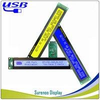 Elektronik Bileşenleri ve Malzemeleri'ten LCD Modülleri'de LCD2USB USB 402 40X2 4002 karakter LCD modül ekran ekran paneli sutible LCD Smartie ve AIDA64 için DIY PC
