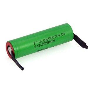 Image 2 - VariCore batería recargable de alto drenaje 30A, 100% Original, 3,6 V, 18650 VTC4, 2100mAh, VC18650VTC4 + hoja de níquel de DIY