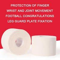 Weiß Sport Band Kinesiologie Taping Sport Elastica Muscle Knie Verband Strain Injury Unterstützung Jagged Aufkleber Finger Schutz