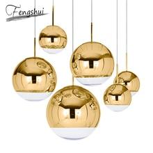 цена на Nordic LED Glass Pendant Lights Gold Silver LOFT Restaurant Bar Industrial LED Pendant Lamp Kitchen Hanging Lamp Indoor Lighting