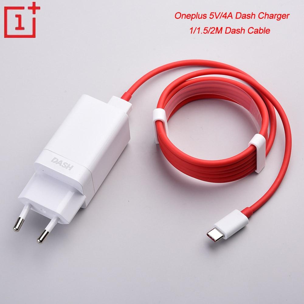 Oneplus – chargeur USB 5V/4A pour tableau de bord, adaptateur de charge rapide, 1/1/1 M/2M, câble pour tableau de bord, pour One plus 1 + 3 3T 5T 6 6T 7 7T 8 Pro