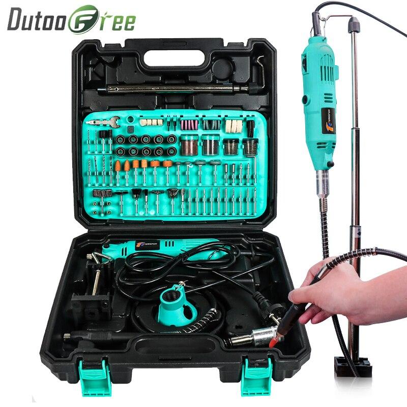 Perceuse électrique 288 pièces Dremel accessoires pour outils rotatifs meule outils électriques bricolage perceuse électrique Mini outils électriques