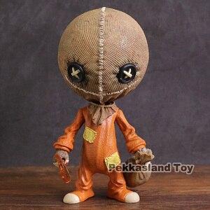 Image 1 - Mezco figura de acción de PVC, Trick R Treat, estilizado, Sam, juguete de modelos coleccionables