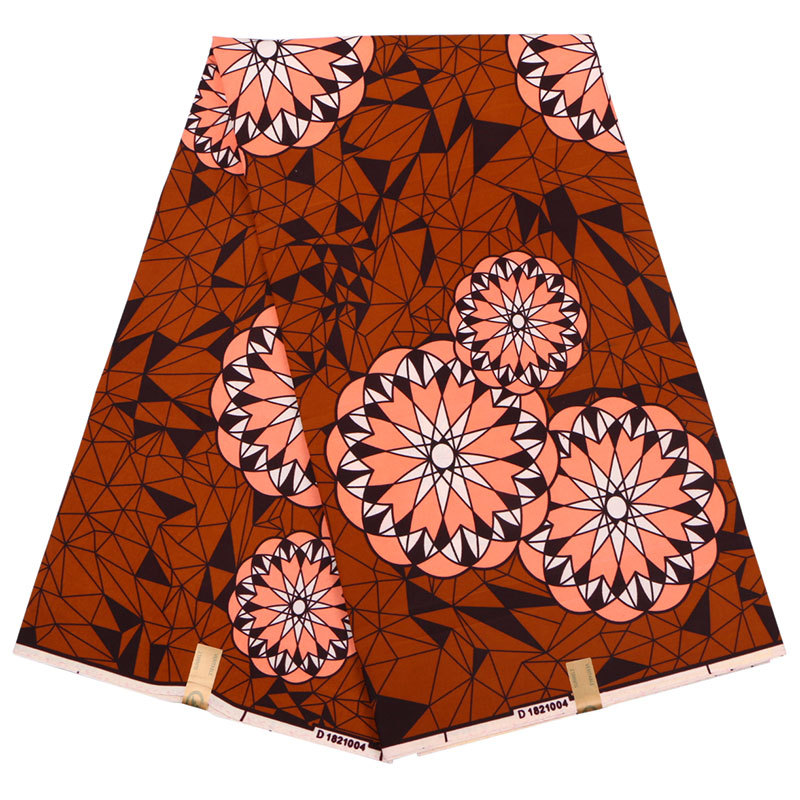 2019 Dutch Wax Fabric 100% Polyester African Wax Print Fabric Pagnes Africain