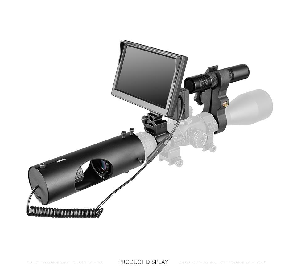 PDDHKK Monocular Hunting Telescope Camera Infared LED 850nm 5W Night Vision Riflescope for Night Hunting Device Outdoor Hunting| |   - AliExpress