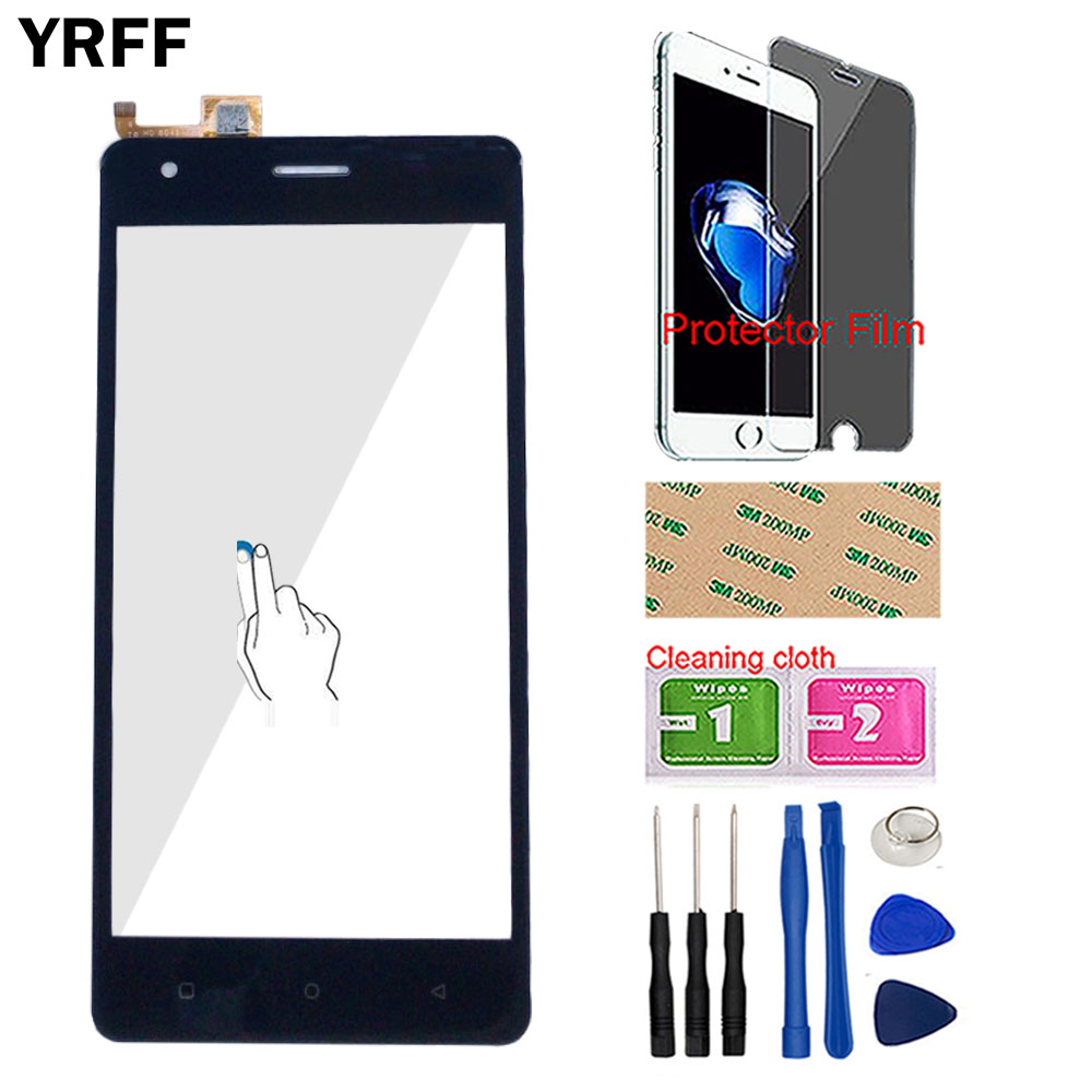 Phone Touch Screen Digitizer Front Glass Touch Panel Sensor For Just5 Freedom M303 Touchscreen Touch Screen Tools Protector Film(China)