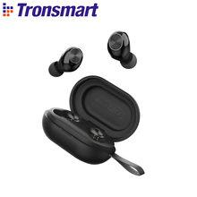 Tronsmart spunky Beat App edição tws fone de ouvido com fones de ouvido sem fio bluetooth com qualcommchip, aptx, cvc 8.0, controle de toque