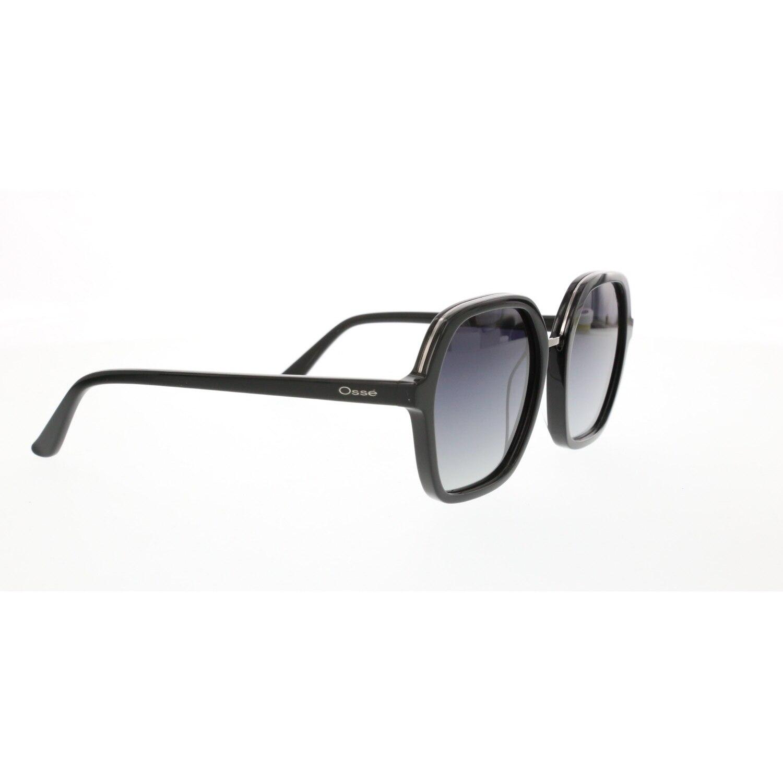 Women's sunglasses os 2840 square 02 bone black organic geometric square 54-19-140 osse