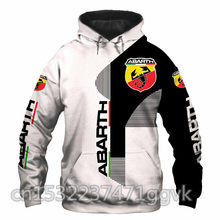 Bombardeiro polaris men hoodies abarth logotipo impresso outono streetwear moda de alta qualidade roupas masculinas pullovers casual