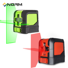 2 Laser Cross Lines Mini Style Self-Leveling Laser Level With Adjustable Mounting Clamp
