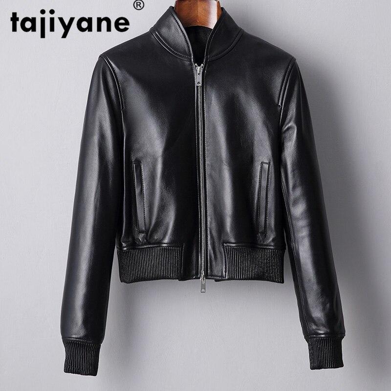 100% Real Genuine Leather Jacket Women Woman Clothes Sheepskin Coat 2020 Spring Korean Fashion Short Moto Slim Coats 17026 WPY75
