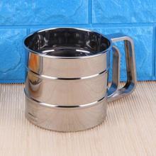 Практичный кухонный инструмент из нержавеющей стали с порошковым фильтром