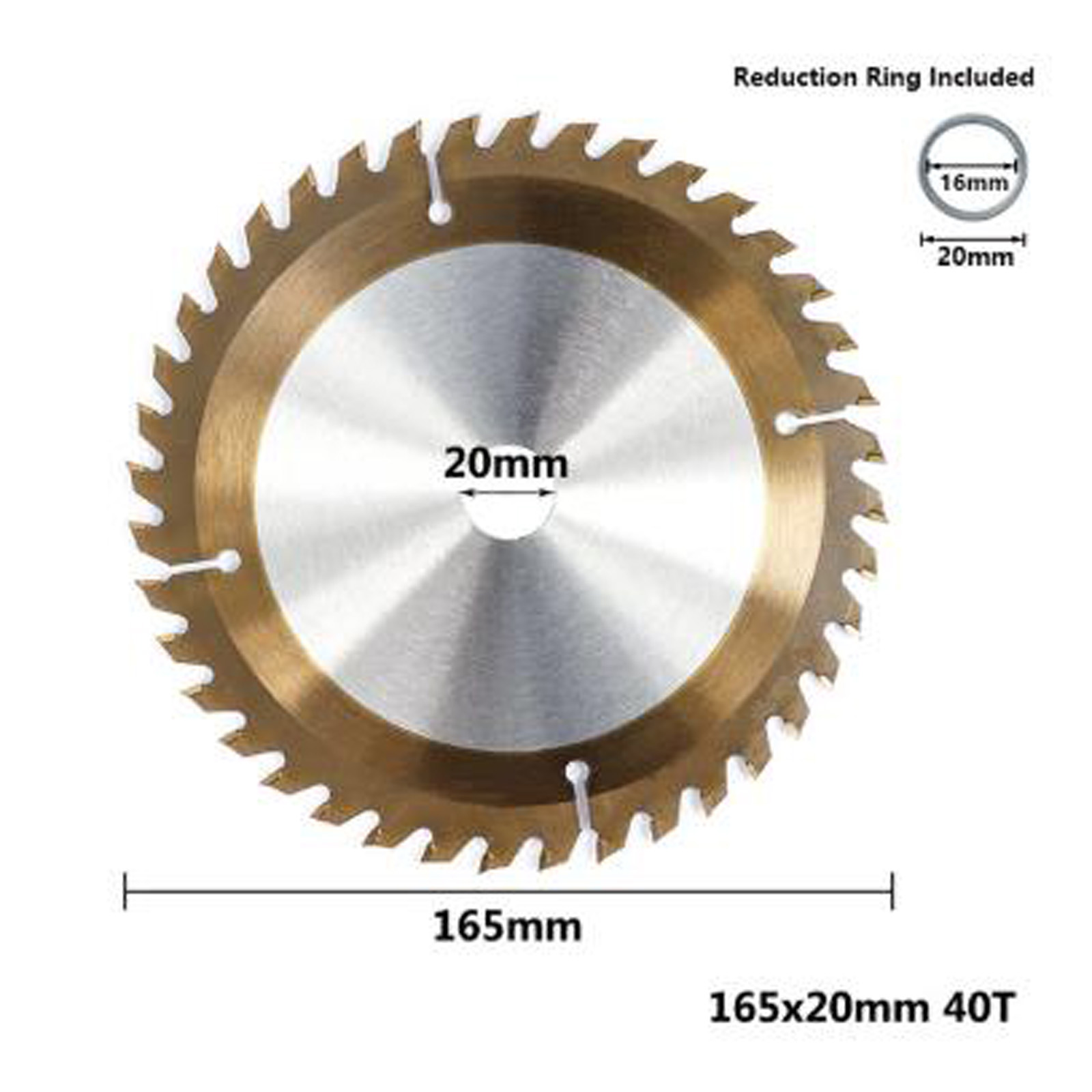 24/40/48/80T Wood Carving Disc Circular Saw Blade Disc 160/165/185mm Cutter Metal Plastic For Angle Grinder Metal Cutting Disc