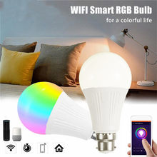 WiFi Smart LED Bulb APP Voice Remote Control Bulb Supports For Alexa/Google Home 16 MILLION Of Colours Night-Light(China)