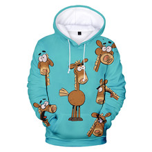 Newest Animeted TV Series It's Pony 3D Printed Hoodies Boy/Girls Popular Cartoons Pattern Sweatshirts Bigsize Pullover 2XS-5XL